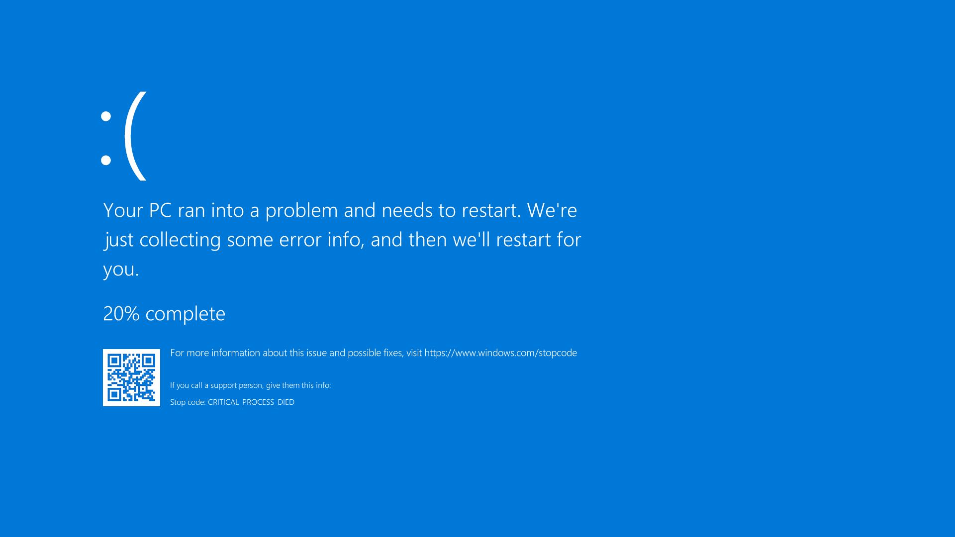 Mengatasi Blue Screen Pada PC Atau Laptop