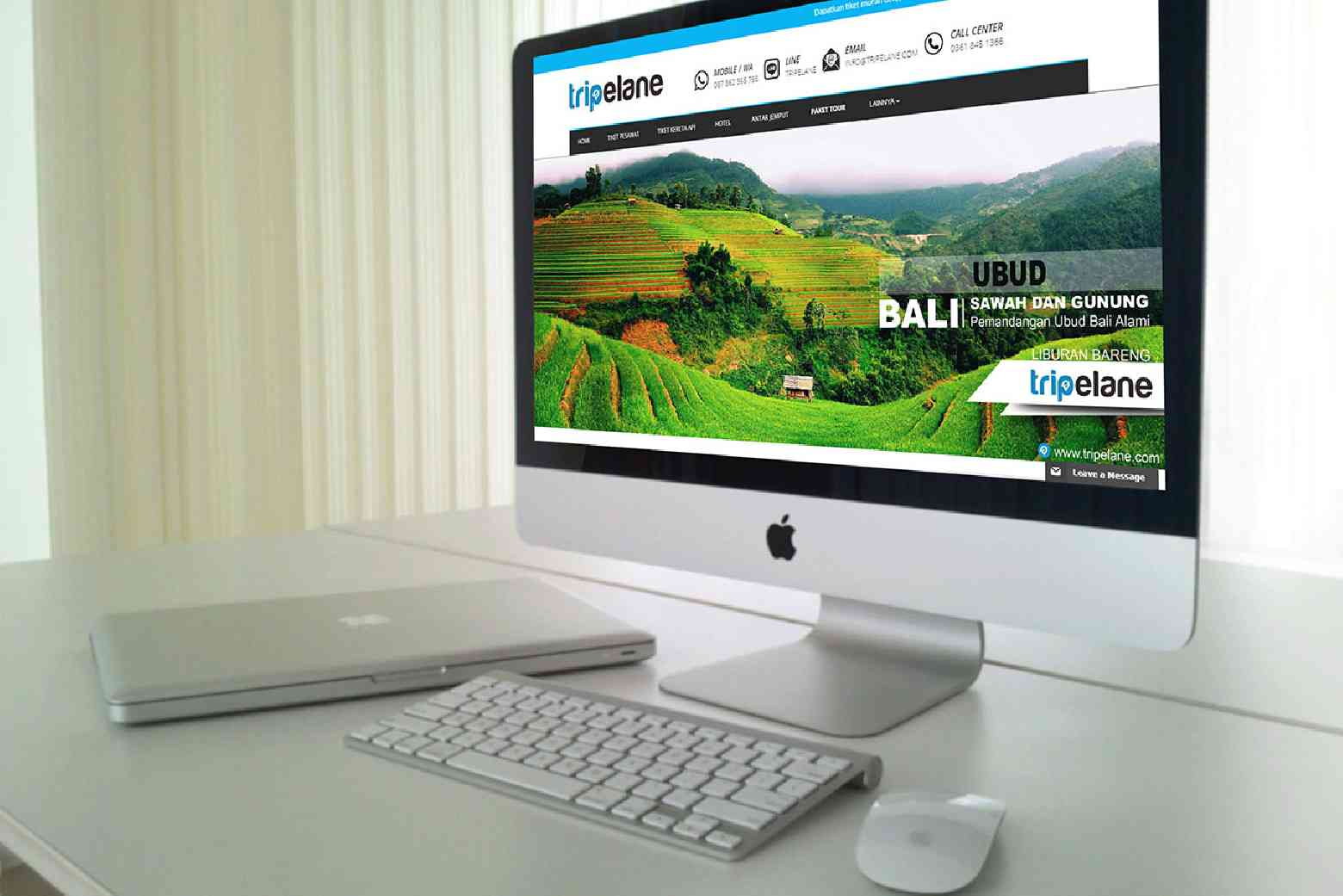 Tripelane Reservasi Online Tour and Travel