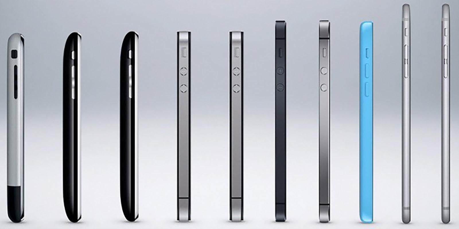 Revolusi IPhone Dari Waktu Ke Waktu