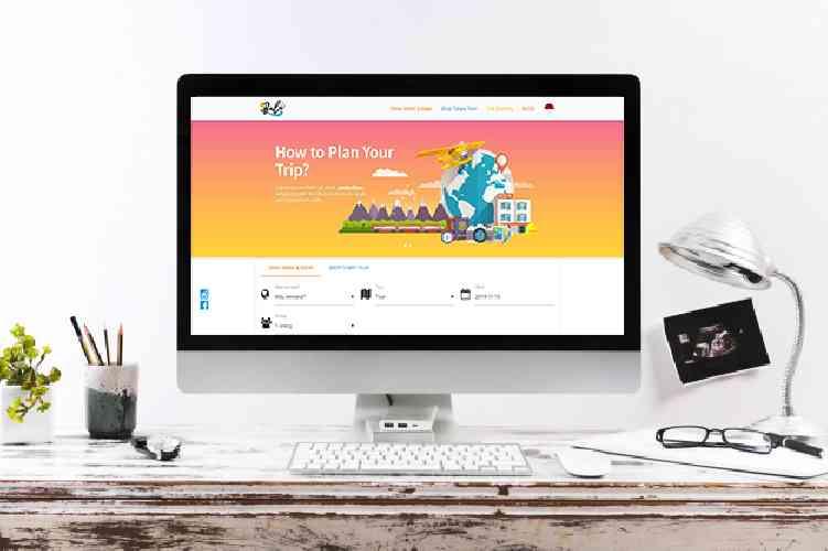 Ibali website yang menyediakan jasa tour dan travel di seluruh indonesia